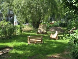 streifenholz - 2014-07-15 Gartenmöbelbau aus Paletten