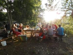 Tisch Sommerfest