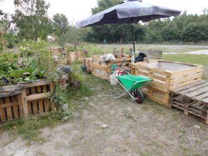 2014-07-07 bausonntag Hochbeetbau