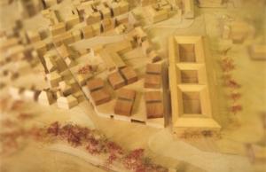 streifenholz diplom - einsatz gesamt von oben