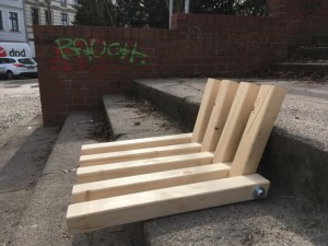 Treppensitz - lange Seite unten
