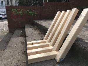 Treppensitz - lange Seite oben