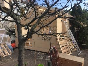 Fr. 09.April 2021 - das Haus von nahem